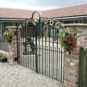 Beautiful, purpose built kennels